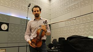 Image for Ilya Gringolts plays Paganini live in the studio