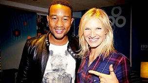 Image for John Legend in session for Jo Whiley