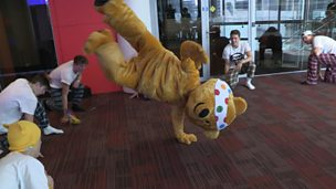 Image for Pudsey joins breakdance crew Ruff Diamond
