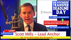 Image for Scott Mills hosts #R1TransferDeadlineDay