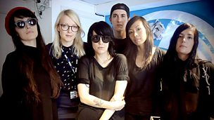 Image for Dum Dum Girls live in session for Lauren Laverne