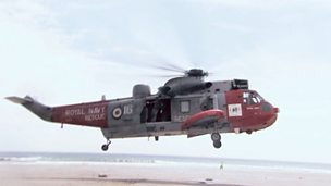 Sea King Search And Rescue Helicopter.