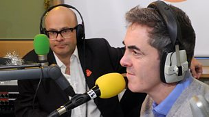 Image for James Nesbitt and Harry Hill chat to Chris Evans
