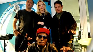 Image for Deltron 3030 live in session for Lauren Laverne