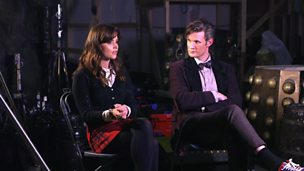 Image for Matt Smith and Jenna Coleman on The Time of the Doctor