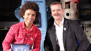 Radzi and Chris Hadfield