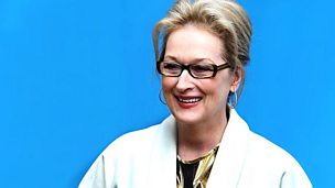 Image for Meryl Streep talks to Anna Bailey