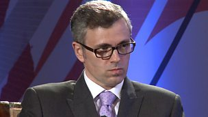 Image for Omar Abdullah: 'No evidence' of movement on Kashmir