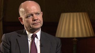 Image for Hague: Dark time if Israeli-Palestinian talks fail