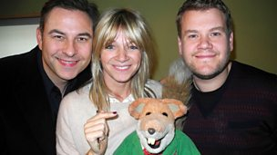 Image for Zoe Ball meets James Corden, David Walliams and Basil Brush!
