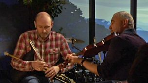 Image for Aly Bain & Mike McGoldrick perform 'Father Dermot'