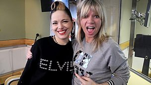 Image for Imelda May in session for Zoe Ball