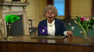 Image for Thatcher oversees the Newsnight credits