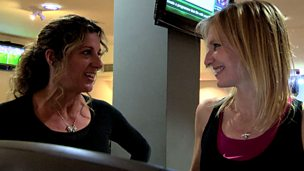 Image for Jo gets training advice from Olympian Sally Gunnell