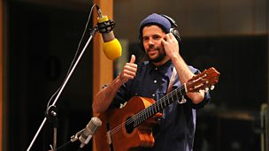 Image for Nick Mulvey in session for Zane Lowe