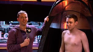 Image for Chris Stark gets a spray tan!