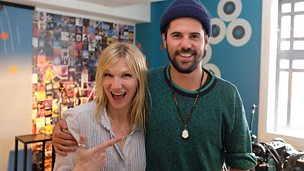 Image for Nick Mulvey live in session for Jo Whiley