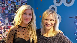 Ellie Goulding in session