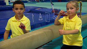 Gymnastics shape finding challenge