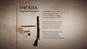 'The Kiss' by Siegfried Sassoon (poem only)