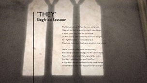 'They' by Siegfried Sassoon (poem only)