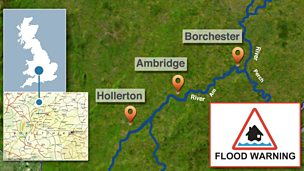 The Ambridge floods