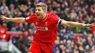 Steven Gerrard's Top 10 Moments