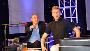 Highlights from Patrick Kielty at the Edinburgh Festival