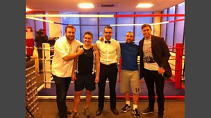 Children in Need charity fight - Paul McVeigh vs