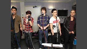 The Wanted in the Live Lounge