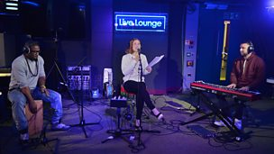 Katy B in the Live Lounge