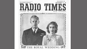 Document: Radio Times special edition for Royal Wedding