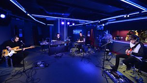 The 1975 perform in the Live Lounge Late