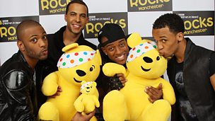 JLS at BBC Children in Need