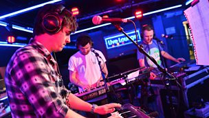 Enter Shikari in the Live Lounge