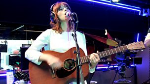 Gabrielle Aplin performs in the Live Lounge