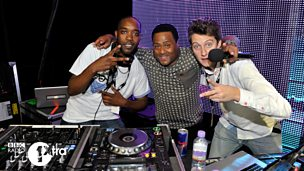 1Xtra DJs on the 1Xtra Live tour