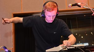 Real Lies in session for Huw Stephens