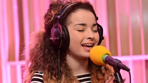 Ella Eyre in session at Maida Vale