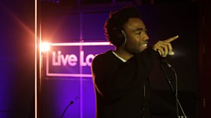 Childish Gambino Live Lounge