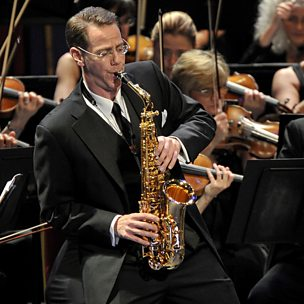 Saxophone Concerto (UK Premiere)