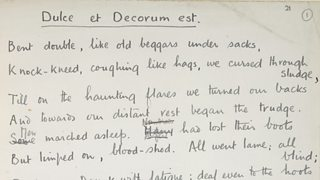 BBC iWonder - Has poetry distorted our view of World War One?