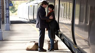 David Tennant and Vicky McClure in the BBC series True Love, 2012