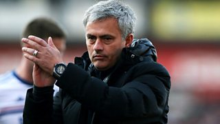 Jose Mourinho: Our title hopes are over
