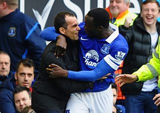 Everton manager Roberto Martinez says club aims to carry on getting better.