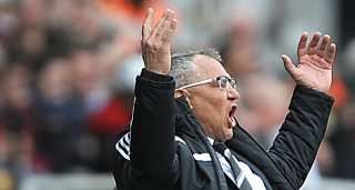 Fulham manager Felix Magath convinced Fulham will stay in the Premier League.