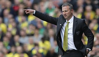 Norwich manager Neil Adams discusses defeat against Fulham in the Premier League.