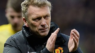Robbie Savage and Terry Christian argue over Manchester United and Moyes.