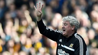 Steve Bruce praises Hull's 'spirit' following comeback at Craven Cottage.