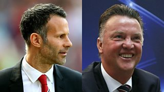 Ronald de Boer says he hopes Van Gaal keeps Giggs on as coach if he is appointed manager